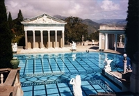 Neptune Pool at Hearst Castle, San Simeon