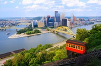 View of Pittsburgh, PA