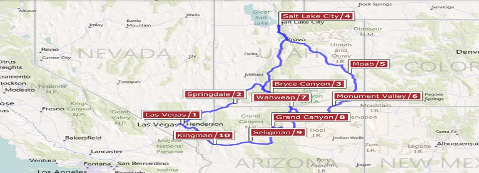 Grand Canyon & Pueblos RV Vacation Idea