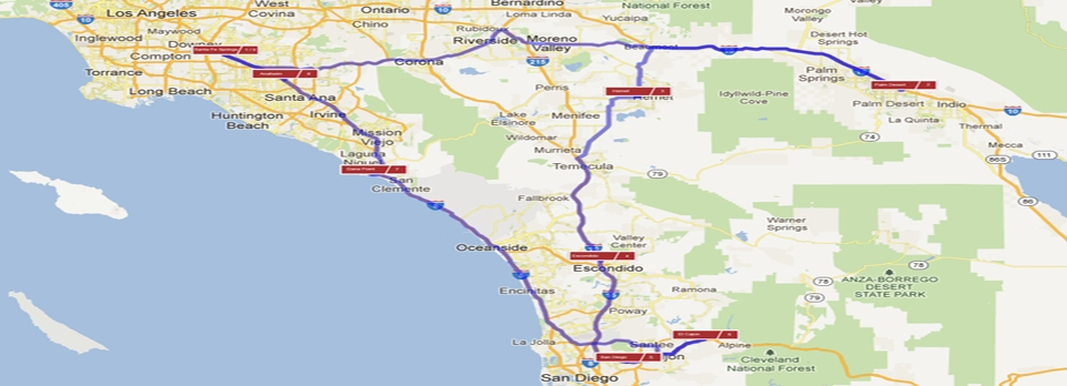 Southern California Journey RV Adventure