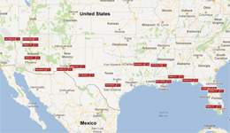 American Panorama RV Travel Itinerary - Los Angeles to Orlando