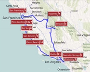 California Dreamin' RV Vacation Itinerary