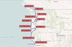 Mountains of the Northwest RV Vacation Itinerary