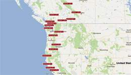 Northwest RV Travel Itinerary