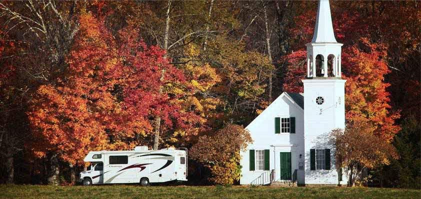 Foliage Sightseeing RV Rentals