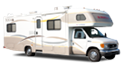 Class C Slide-out Cabover Style Motorhome