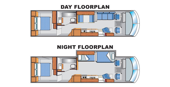 Slideout AS32 RV Floorplan