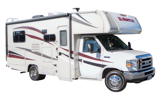 Class C RV Rental Small Cabover Style C22