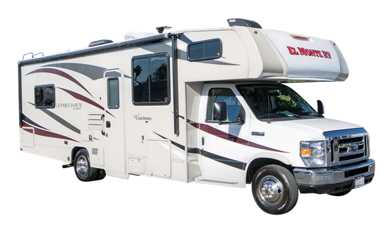 Class C Rv Rental Large Cabover Style C28 Rv