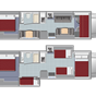 Cabover Style FS31 Slide-out Floorplan