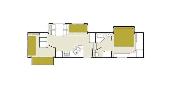 Temporary housing regal 5th wheel el monte rv for Regal flooring arizona