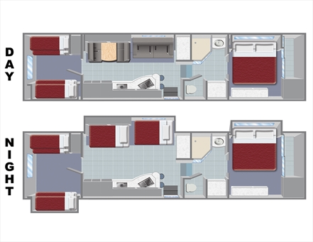 Quantum 5th Wheel Floor Plan