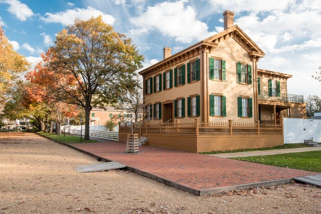 Abraham Lincoln House in Springfield, IL