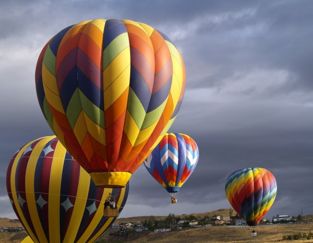 Hot Air Balloon Races, Reno, NV
