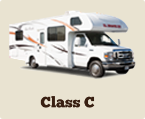 Motorhome RV Rentals We Offer