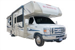 Class C RV Rental With Bunk Beds For Family