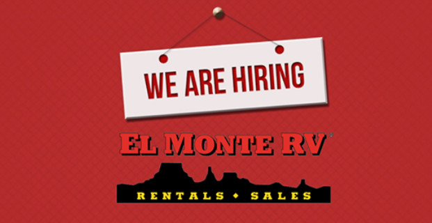 Jobs at El Monte RV Rentals & Sales