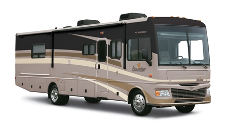34ft Fleetwood Fiesta Motor Home