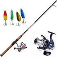 Fishing Gear - Rod, Reel, and Lures