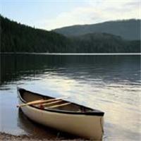 Peaceful Connecticut lake