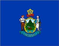Flagge von Maine